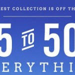 American Eagle Early Cyber Monday 2013 Deals. 25 to 50% Off Everything