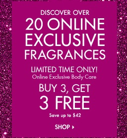 Bath and Body Works pre-Cyber Monday 2013 Sales
