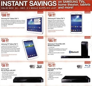 Costco Black Friday Deals and Sales 2013