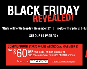 Herbergers Black Friday 2013 Deals, November 28 - November 30, 2013