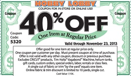 Hobby Lobby Early Cyber Monday Deals