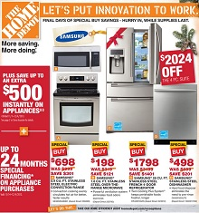 Home Depot Cyber Monday 2013 Deals Samsung French Door Refrigerator Sale