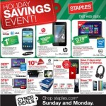 Staples Cyber Monday 2013 Sales. HP Slate Tablet or Samsung Galaxy S3