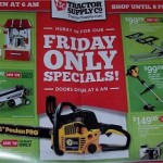 Tractor Supply Early Cyber Monday 2013 Deals Black Friday Sale