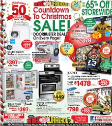ABC Warehouse Cyber Monday 2013 Sales
