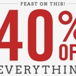 American Eagle Cyber Monday deals 2013. 40% Off Everything + Free Shipping
