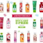 Bath and Body Works Cyber Monday 2013 Sales. Buy 3 Get 3 Free