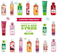 Bath and Body Works Cyber Monday 2013 Sales