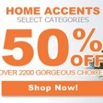 Hobby Lobby Cyber Monday Deals 2013. 50% Off Home Accents