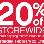 Ace Hardware latest deals – February 2014. 20% Off Storewide or $5 Off Batteries