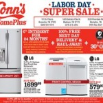 Conn's Pre-Cyber Monday Deals – Labor Day Sale 2014. LG French Door Refrigerator