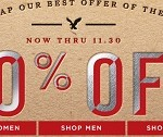 American Eagle Pre-Cyber Monday 2014 Deals. Super Sky High Jegging