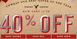 American Eagle Cyber Monday 2014 deals