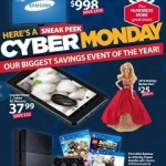 Walmart Cyber Monday 2014 Deals. Samsung 55″ 4K Ultra HD LED HDTV