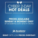 Academy Sports Cyber Monday 2014 Sale – 2-Day Hot Deals