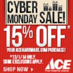 Ace Hardware Cyber Monday 2014 Deals – 15% Off Site-wide