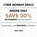 Champs Cyber Monday 2014 Sale – Save 20% Online Only