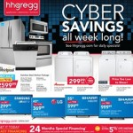 hhgregg Cyber Savings – All Week Long!