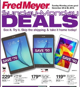 Fred Meyer Cyber Monday deals