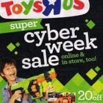Toys R Us Cyber Monday 2015 Deals. Nerf Zombie Strike Blasters & Accessories