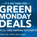 Green Monday 2015 deals