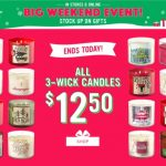 Bath & Body Works Cyber Monday Sale 2017