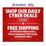 Academy Sports Cyber Monday Sale 2017
